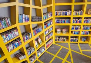 书吧装修效果图-小型