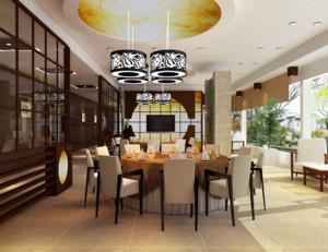 120平现代风格餐厅装修效果图赏析