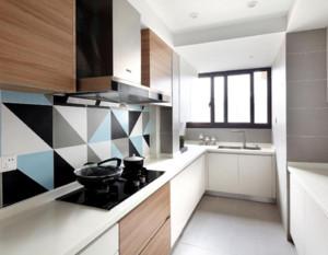 15平米现代简约厨房装修效果图
