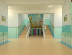 幼儿园门厅延续整体色彩,简欧风设计,典雅大方得体。不仅增加了空间感,而且给人眼前一亮的感觉,便于孩子们对自由生活的向往和追求,让孩子在嘈杂的环境中,体会平静生活的平衡。