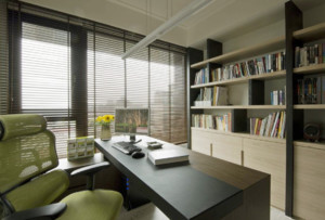 15平米简约书房装修效果图