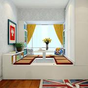 卧室榻榻米床装修设计效果图