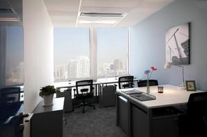 90平米现代风格办公室装修案例
