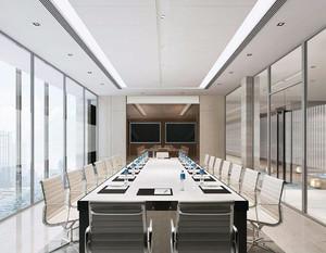现代简约风会议室装修效果图