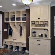自建别墅鞋柜装修效果图案例