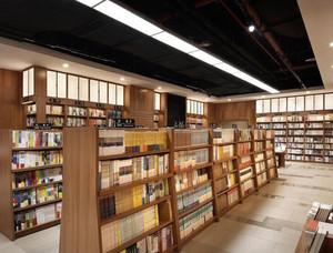 简约大书店装修效果图