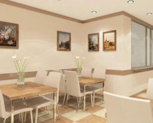 现代简约风格餐厅装修效果图赏析