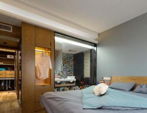 卧室简约衣帽间装修效果图