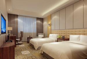 宾馆卧室室内装修效果图案例欣赏