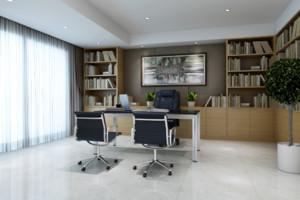20平米简欧风格办公室装修效果图