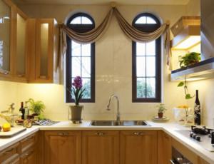 90平米简欧风格厨房装修效果图