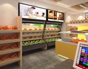 60平米现代风格水果店装修效果图