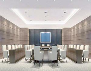 高级会议室装修效果图