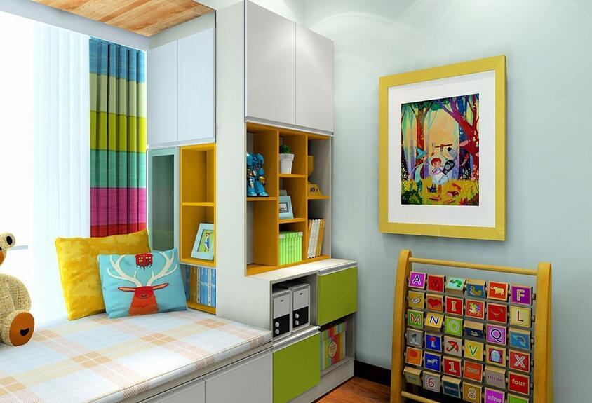 儿童房飘窗装修效果图