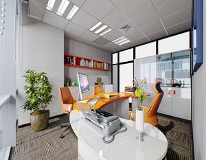 现代公司办公室装修效果图例