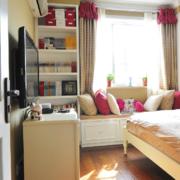 卧室简约飘窗装修效果图