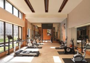 现代简约风格家庭健身房装修效果图