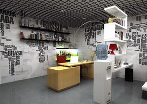 都市办公室装修效果图案例欣赏