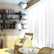 90平米现代风格阳台装修效果图赏析