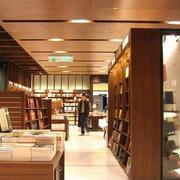 新中式风格书店装修效果图
