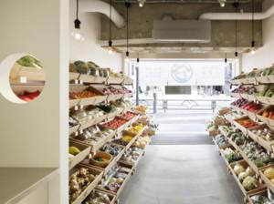 60平米乡村风格水果店装修效果图