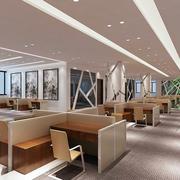 都市办公室精装装修效果图