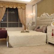 90平米欧式风格卧室装修效果图案例