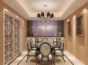 欧式风格家庭餐厅装修效果图