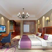 中式风格宾馆豪装修案例