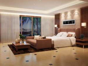现代简约风格酒店装修设计效果图赏析