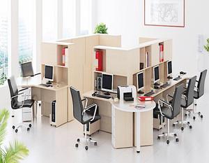 开放式创意办公室装修效果图