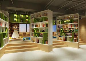 20平米小型书店装修效果图