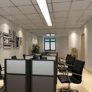 小办公室装修效果图案例