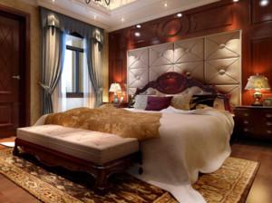 120平米欧式风格卧室装修效果图大全