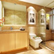 小户型卫生间装修设计图