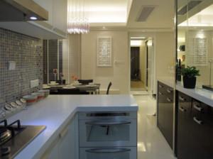 6平米现代风格厨房装修效果图