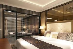 宾馆房间装修效果图案例欣赏