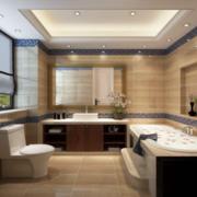 别墅简欧风格卫生间装修效果图