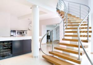 大户型家庭旋转楼梯效果图赏析