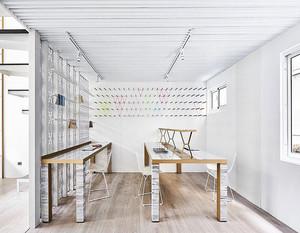 现代创意办公室装修效果图