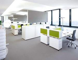 现代商业写字楼办公室装修效果图