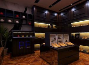 30平米都市风格鞋店装修效果图
