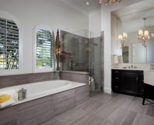 现代风格别墅卫浴装修效果图