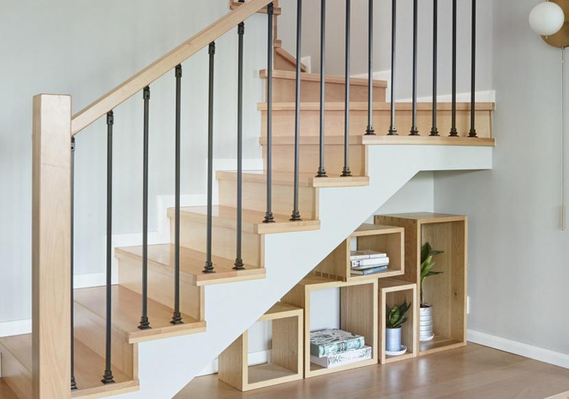 北欧复式楼梯装修效果图大全