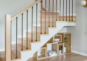 北歐復式樓梯裝修效果圖大全