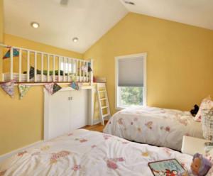 90平米现代简约风格儿童房装修效果图大全