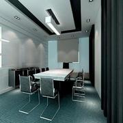 商业会议室装修效果图例