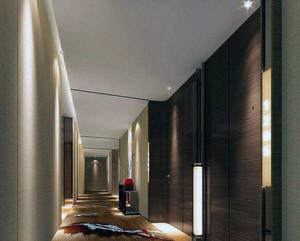 宾馆走廊装修效果图欣赏