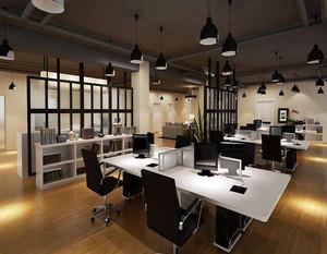 设计公司办公室装修效果图