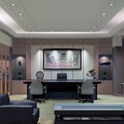 老板办公室装修实景图